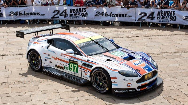 Aston Martin Reimagines Gulf Paint Scheme For Le Mans