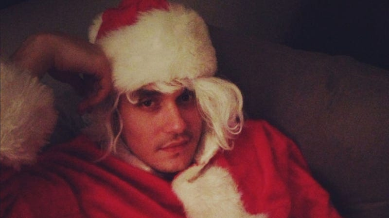Katy Perry's Photo of John Mayer in a Santa Suit Might Cause Post-Christmas Night-Mayers