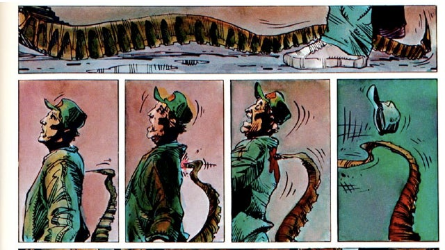 Holy hell, the 1970s Alien comic book was awesome