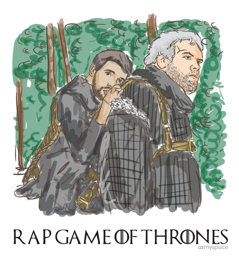 What Would Rappers Look Like if They Lived in Westeros?