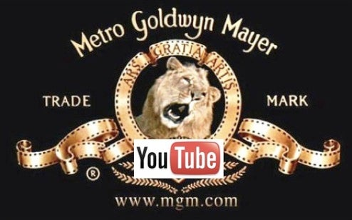 Full-Length MGM Movies To Come to YouTube