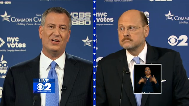 "Very Upset Joe Lhota Cries ""I'm Not Upset!"" During Debate"