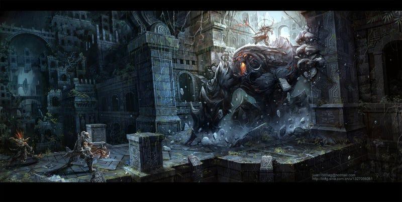 The Best Blizzard Fan Art of 2011