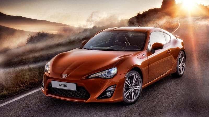 Toyota GT 86 is the production version of the FT-86