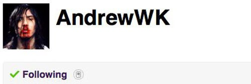 Andrew WK Will Pay You To Taste His Puke