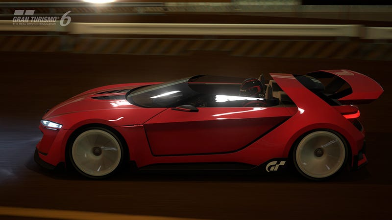The GTI Roadster Vision GT Is A Smushed 503 Horsepower Digital VW