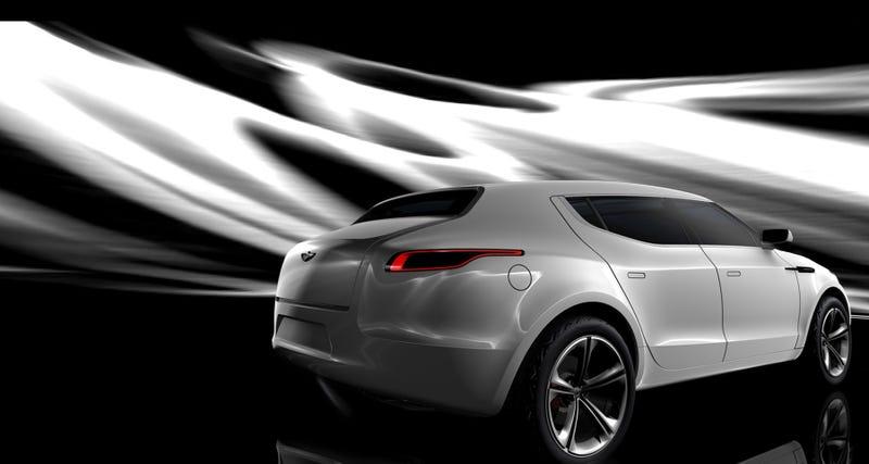 Aston Martin Lagonda Concept: Cross Our Heart, Hope It Dies