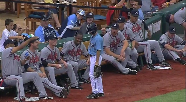 Livan Hernandez Showers Abuse On Rays Ballboy For Booting Grounder