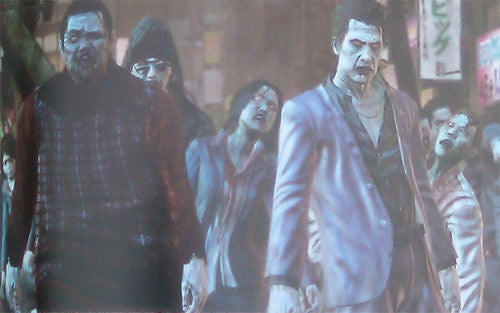 New Yakuza Game Features Zombies