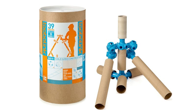 Recycling Can Actually Be Fun With a Paper Towel Tube Building Set