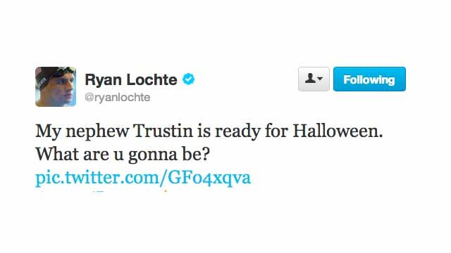 Of Course Ryan Lochte Has a Nephew Named Trustin