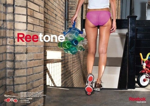 Reebok Just Taunting Women with Dumb Butt Shoes