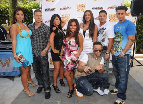 Jersey Shore Red Carpet Fashion: Wit, Wisdom, Abs
