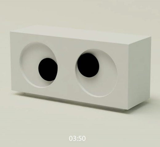 The Googly Eyes Clock Constantly Looks At You Funny