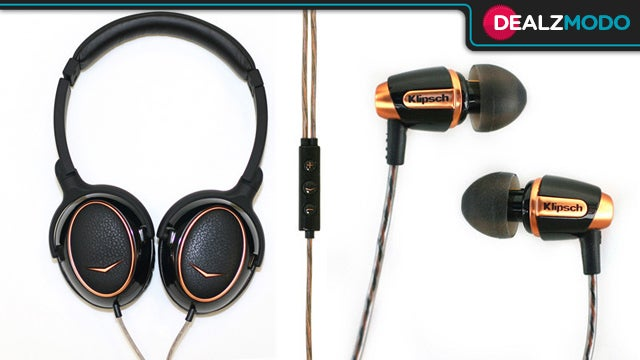 Klipsch Headphones Are Your Dealzmodo-Exclusive Deal of the Day