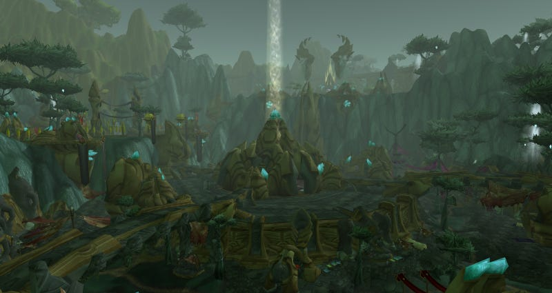 The Ghost Towns of World of Warcraft