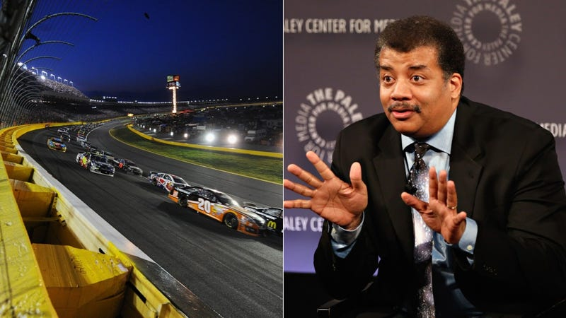 Neil deGrasse Tyson Gives Us A Detailed Breakdown Of NASCAR Physics