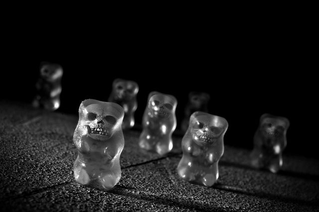 The zombie gummy bears are coming to get you, Barbara