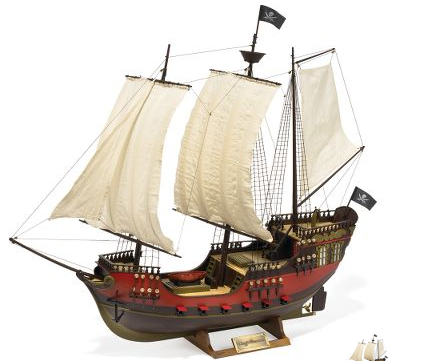 Remote Controlled Ship...Pirate Ship
