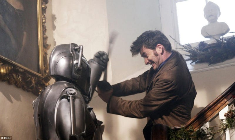The Woman Who Puts The Cybermen In Their Place