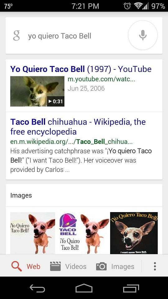 Google Voice Search has gone multi-lingual