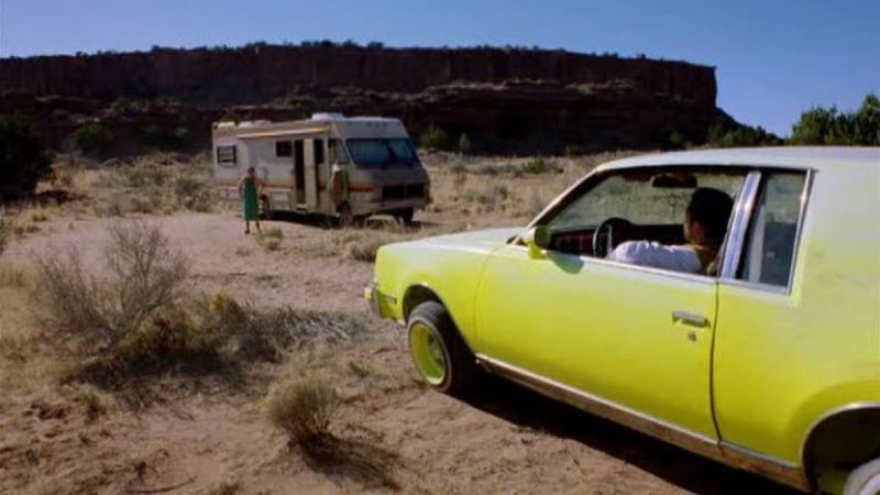 How One Man Picks The Perfect Cars For Breaking Bad