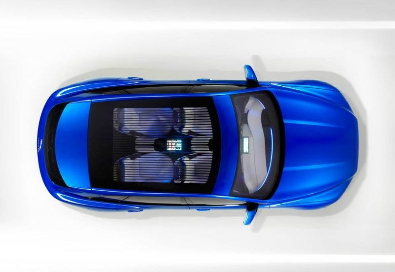 You'd Be Crazy Not To Like The Jaguar C-X17 SUV Concept