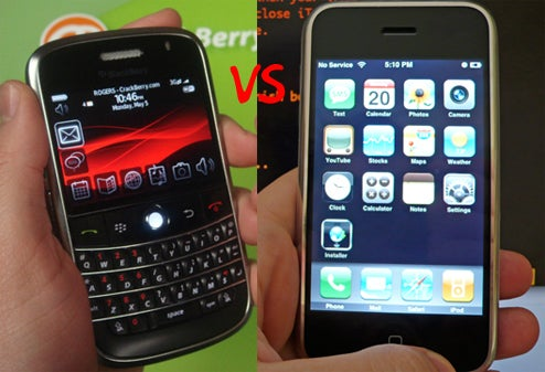 RIM CEO: BlackBerry Bold Not Inspired by the iPhone At All, Really
