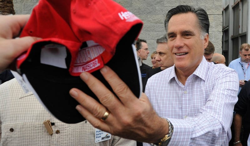 Today in Mitt Romney Trying to Relate to Voters: 'I Have Friends Who Own NASCAR Teams'