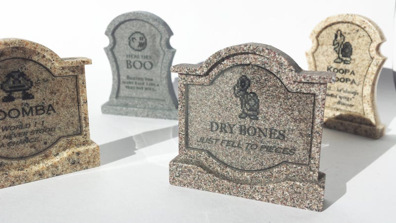 Remember The Dead With These Video Game Tombstones