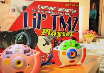 Lil' TMZ Playset Teaches Kids To Stalk Celebs