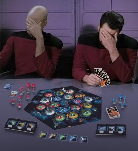 star trek settlers of catan sets phasers to sheep. Black Bedroom Furniture Sets. Home Design Ideas