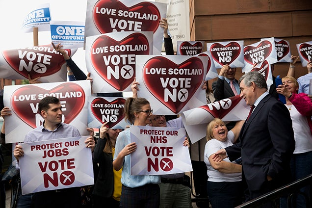 Scotland Rejects Independence From Britain