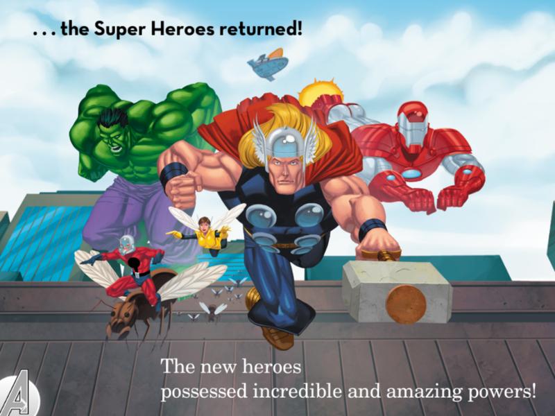 Avengers Origins: Assemble! Gallery