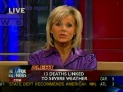 Deadly Spring's First Victims Make Fox Anchor Positively Giddy
