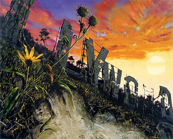 Nature Reclaims a Post-Apocalyptic Disney World