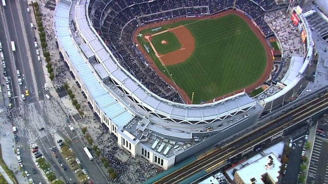Yankee Stadium Was Rather Sparsely Populated A Few Minutes Before First Pitch
