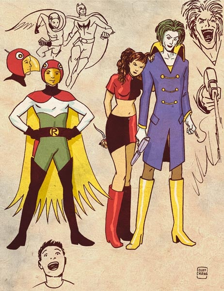 Behold, the Justice League of Japan that never was