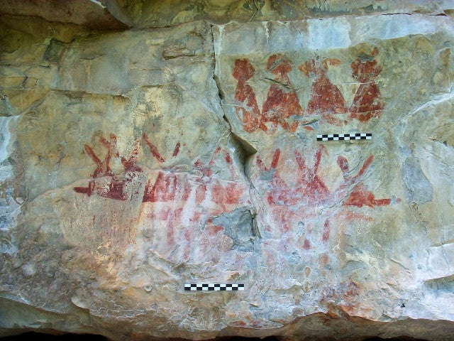 Thousands of cave paintings have been discovered in Mexico