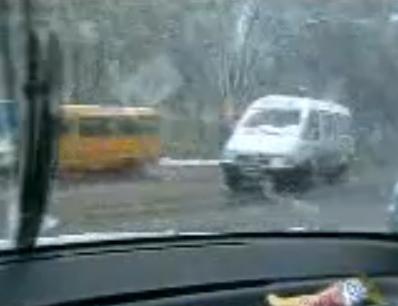 Russian Potholes Are Like Miniature Ski Jumps