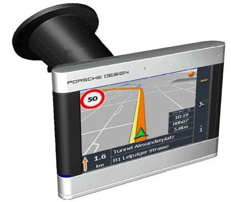 Porsche Navigon P9611 GPS: Ooo La La