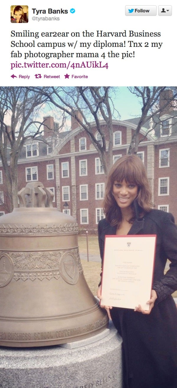 Tyra Banks Needs to Stop Lying About Going to Harvard Business School