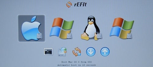 Boot OS X, XP, and Ubuntu from a Mac