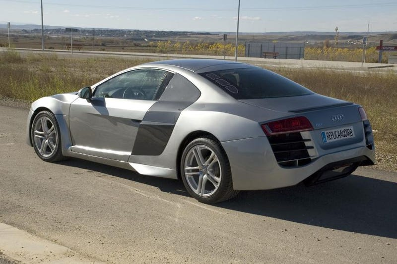 Man Builds Audi R8 Super Car Out Of A Mercury Cougar