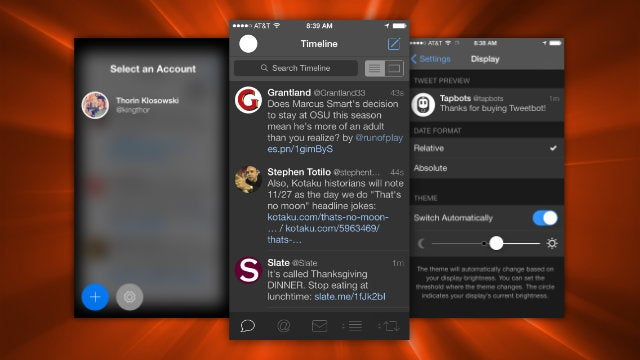 Tweetbot Updated with Night Mode, Quick Account Switching, and More