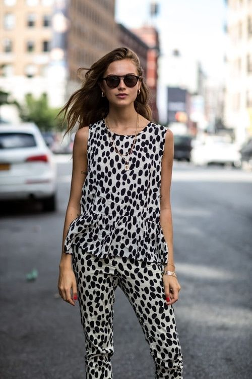 Fashion Scavenger Hunt: Help Find This Polka-Dotted Suit
