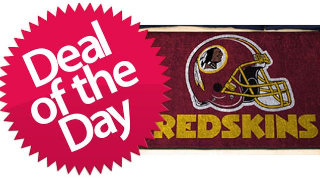 Nfl team logo mats are your cleanliness is next to nfl iness deal of