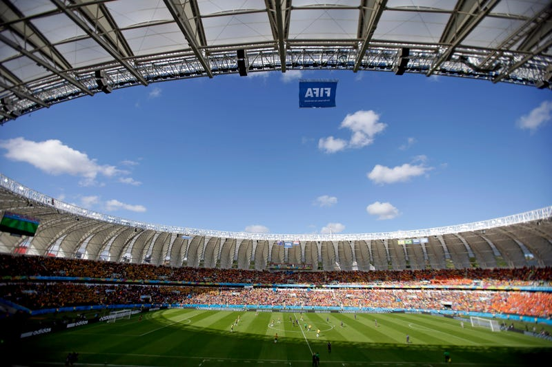 The Wobbling Stairs at This World Cup Stadium Look Ready to Collapse