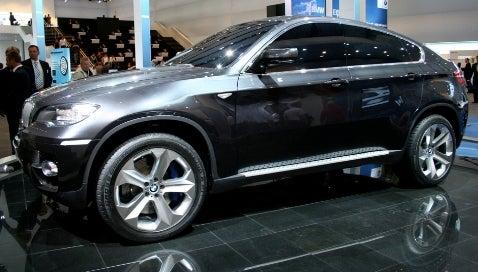 Frankfurt Auto Show: BMW X6 Concept