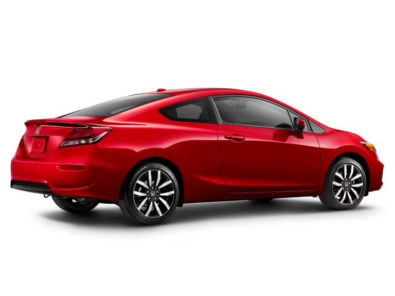 2014 Honda Civic Goes On-Sale Today With A Restyled Coupe, Higher Tech, Better Fuel Efficiency And An Improved Driving Experience